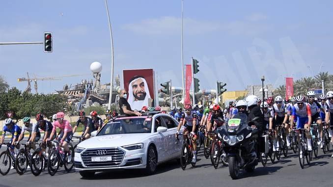 Uae Tour: Sobrero ha chiuso al cinquantesimo posto in classifica