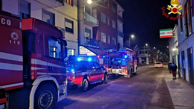 Incendio a Neive divampato dalla canna fumaria di una pizzeria