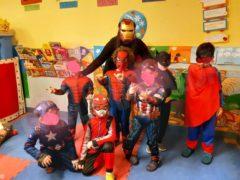 Il Carnevale all'asilo Montecatini di Bra