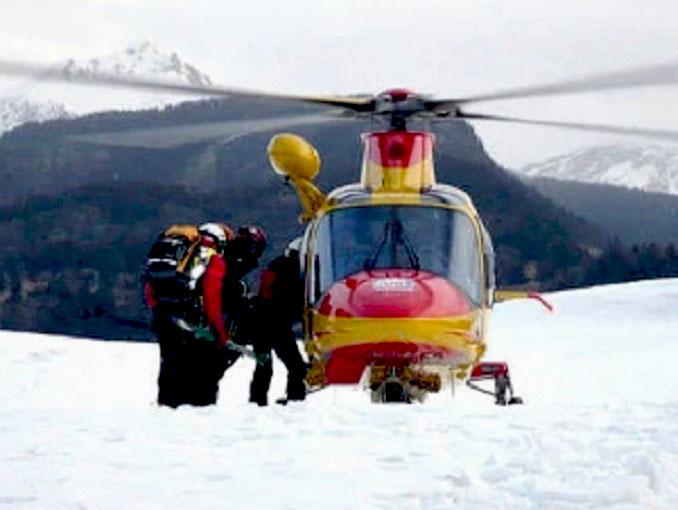 elisoccorso 118 montagna neve
