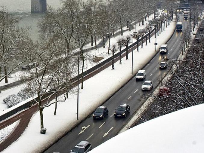 neve, città