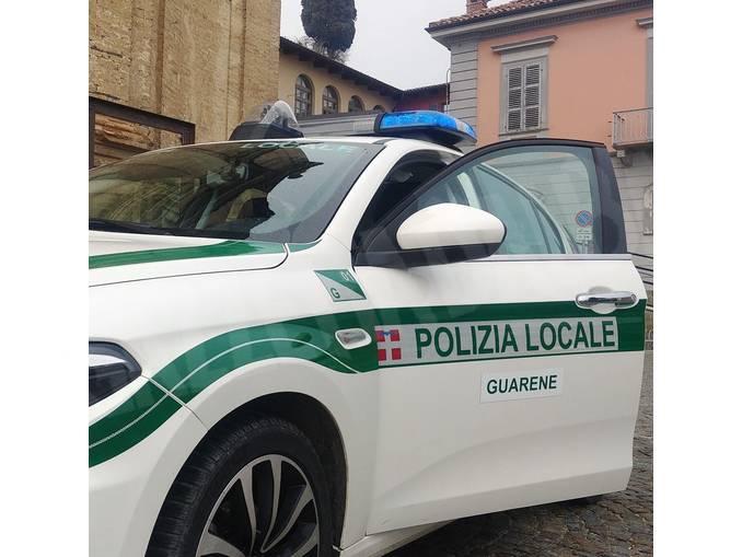 polizia locale Guarene nuova