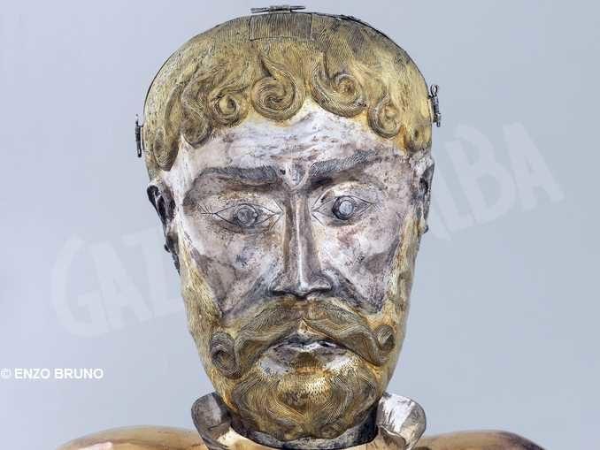 San Teobaldo è tra i ritratti d'oro e argento