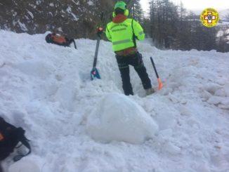 +++Aggiornamento+++Trovati morti i due scialpinisti dispersi nella zona dell'alta Val di Susa da questo pomeriggio 1