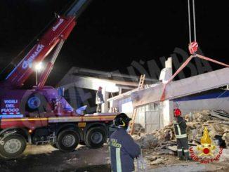 Crolla una stalla a Piossasco, gli agricoltori raccolgono offerte per la famiglia danneggiata