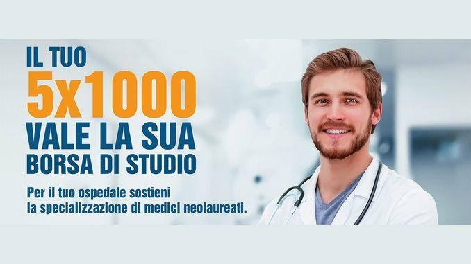 L'ospedale apre ai nuovi medici: col 5 per mille attivati corsi di specializzazione