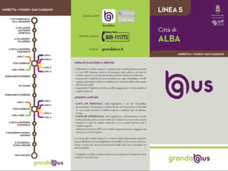 Alba: sospensione temporanea della linea 5, tutti i collegamenti sempre garantiti
