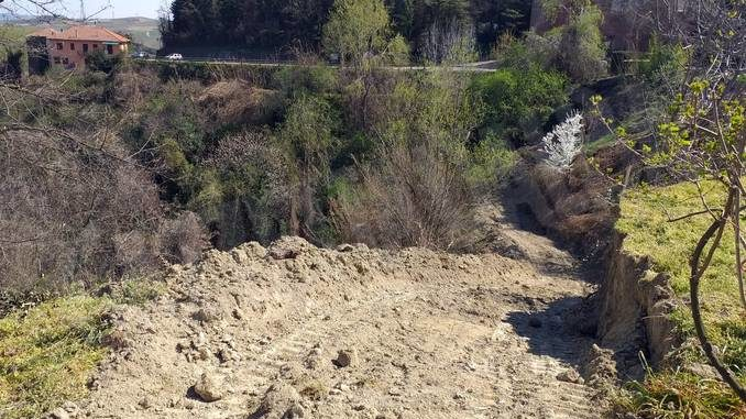 Castellinaldo: il versante instabile sarà consolidato dopo anni di attesa