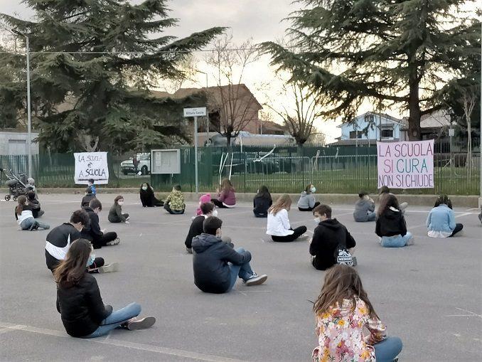 Anche Ceresole si unisce al Flash Mob anti-DAD 1