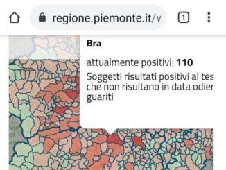 Covid-19: a Bra si torna sopra i 100 contagiati