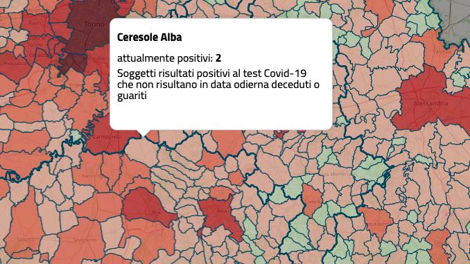 Ceresole d'Alba: sono due i casi di contagio da Covid-19