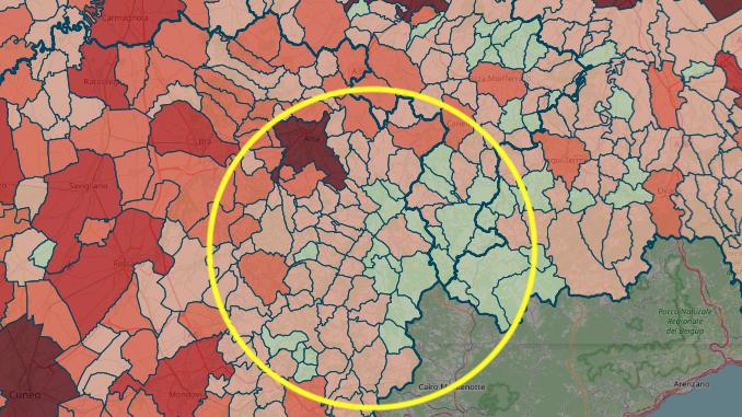 Coronavirus in Alta Langa: il numero dei positivi è stabile (+2)