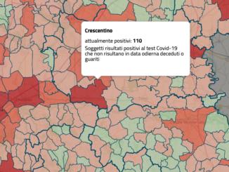 In Piemonte anche Crescentino in zona rossa