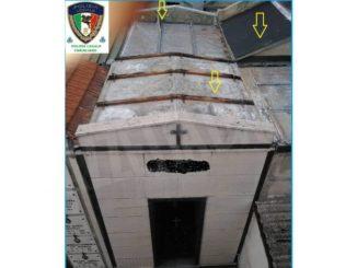 Furti di rame al cimitero di Farigliano: è stato individuato il responsabile