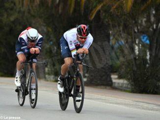 Tirreno-Adriatico: il piemontese Ganna terzo nella cronometro conclusiva