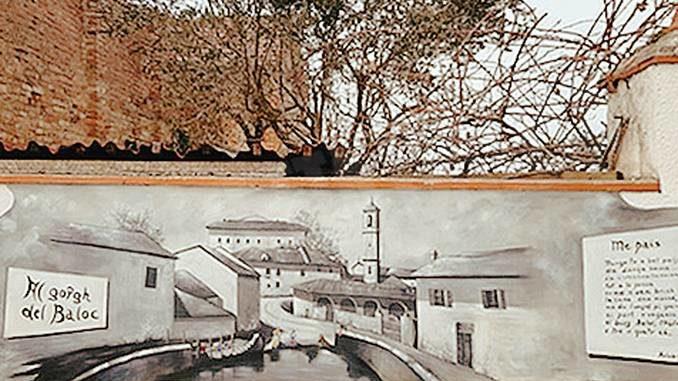 Mango: le lavandaie e la sorgente di inizio '900 rivivono grazie a un dipinto di Tore Milano
