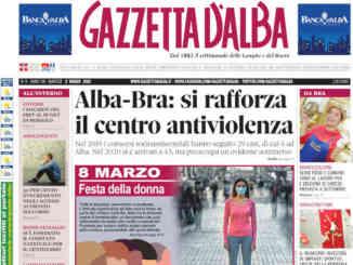 La copertina di Gazzetta d'Alba in edicola martedì 2 marzo