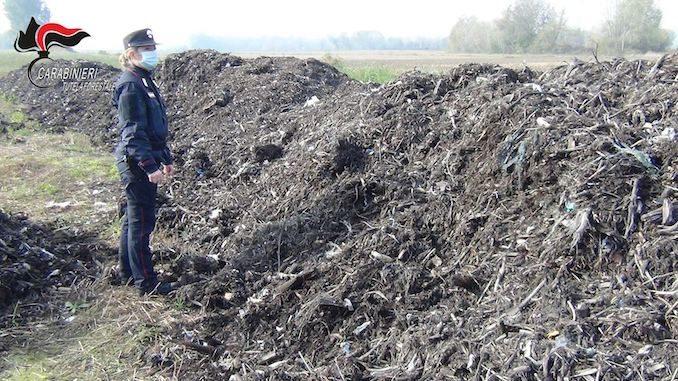 Magliano Alfieri: rifiuti non trattati interrati nei campi. Sequestrato lo stabilimento Olmo Bruno