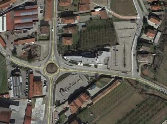 Nuovi asfalti alla rotatoria in località Borbore di Vezza d'Alba