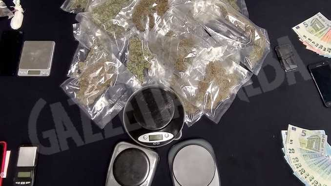 Cinque arresti per detenzione e spaccio di droga nel Cuneese