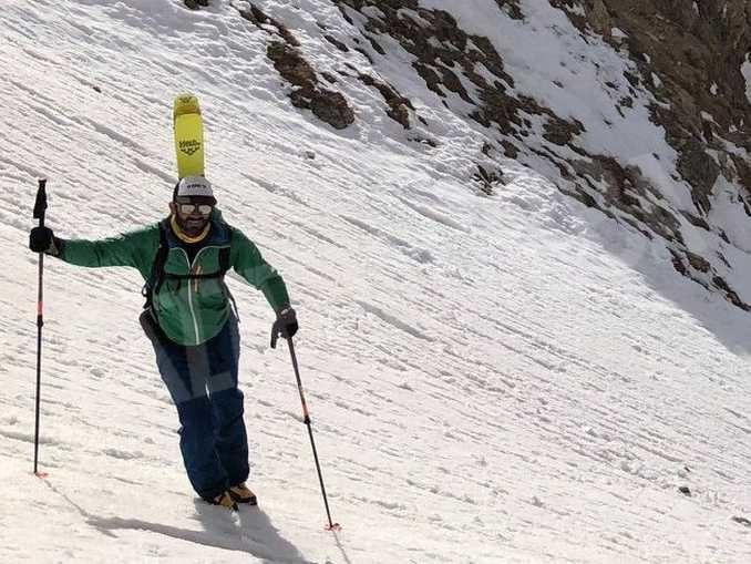 Dai computer alla montagna: ora Simone Greci è aspirante guida alpina