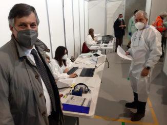 Vaccinazioni anti-Covid: sperimentato a Lagnasco e Scarnafigi il modello del distretto mobile