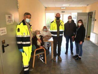 Canale: è iniziata oggi la vaccinazione degli over 80