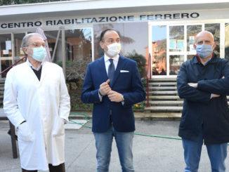 Vaccini ai disabili: inaugurata la campagna al Centro Ferrero di Alba