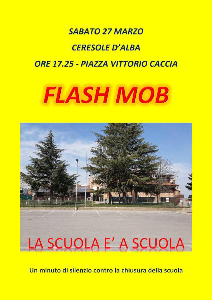 Domani flashmob a Ceresole. Un minuto di silenzio contro la chiusura della scuola