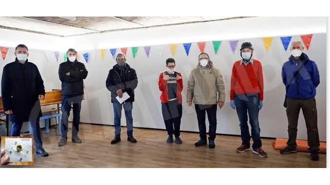 I Cromolux consegnano i fondi destinati alla comunità L'accoglienza di Ricca d'Alba 1