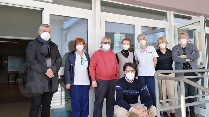 A Dogliani sono stati vaccinati 96 ultraottantenni