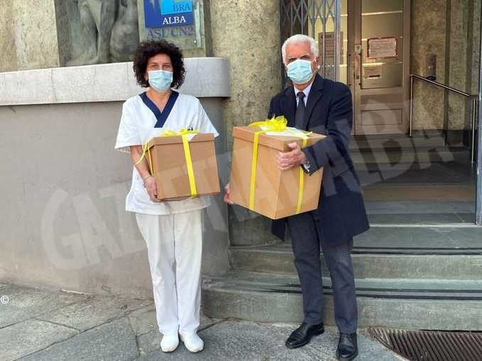 Praline per dire grazie agli operatori sanitari impegnati nell'emergenza sanitaria 2