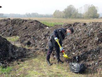 Falso compost smaltito nei campi: i dettagli dell'attività di indagine 1