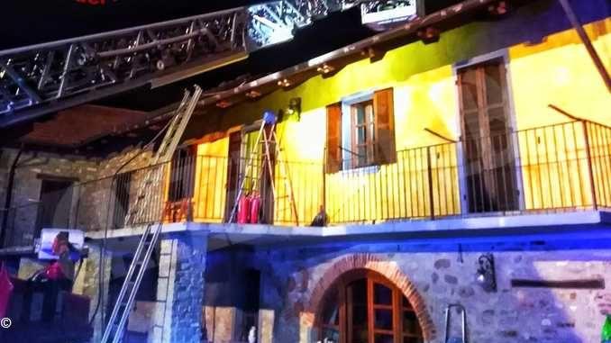 Incendio in frazione Chiola: la casa è stata dichiarata inagibile