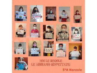 Dalle elementari di Narzole la protesta contro la teledidattica 1