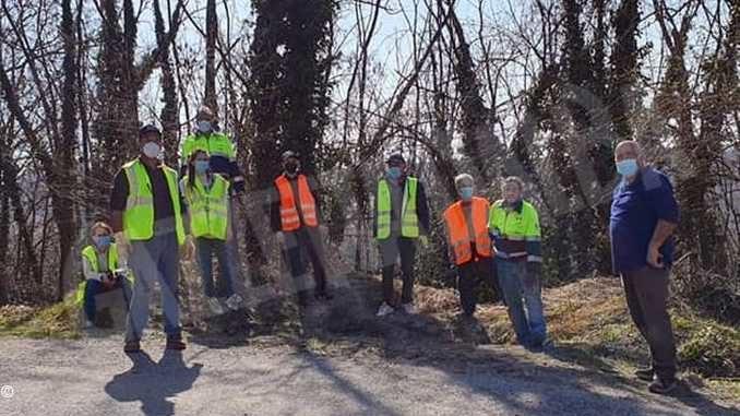 Visita, ama, rispetta. La Protezione civile dei Comuni inseriti nel sito Unesco pulisce strade e fossati 1