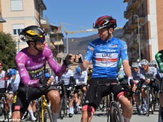Tirreno-Adriatico: domani epilogo a cronometro con il piemontese Ganna favorito
