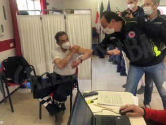 Vaccine day per i volontari della Protezione civile