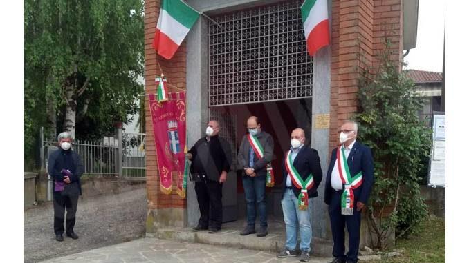 Treiso: cerimonia al pilone dei Canta per la festa della liberazione