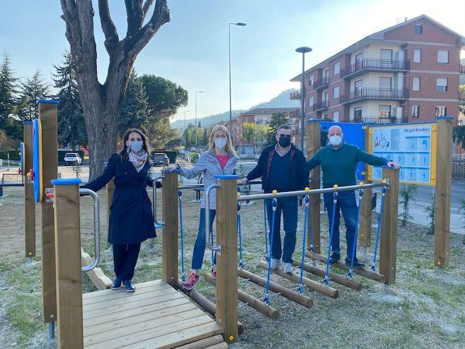 Santo Stefano Belbo inaugura l'area fitness sul lungo Belbo