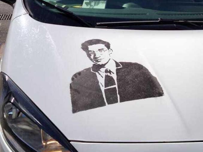 Art in Taxi Cesare Pavese Torino