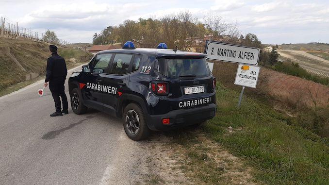 Carabinieri San Martino Alfieri