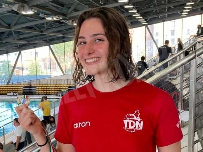 Nuoto: prima medaglia regionale per la Vallebelbo sport
