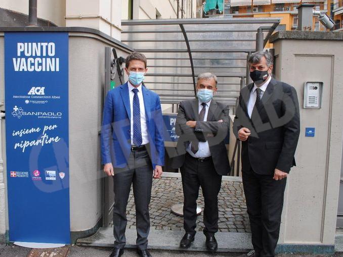Fabrizio Pace, Giuliano Viglione e Luigi Icardi