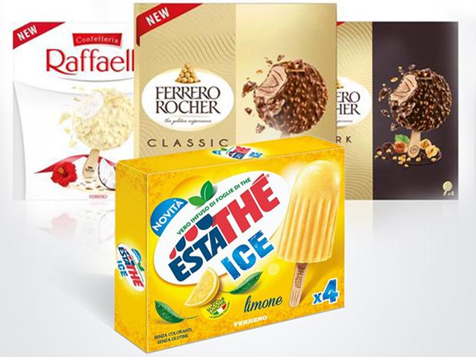 Ferrero sfida i colossi del gelato