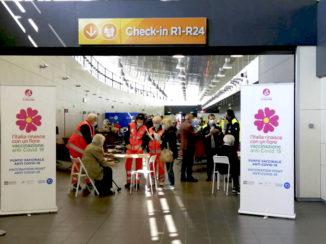 Anche l'aeroporto di Torino diventa un hub vaccinale