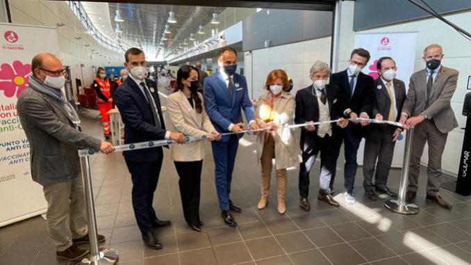 Anche l'aeroporto di Torino diventa un hub vaccinale 2