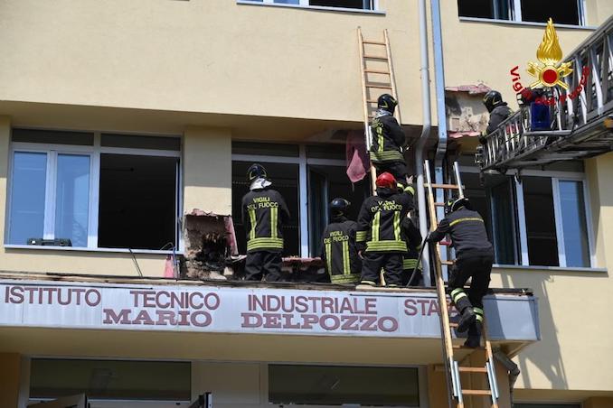 Incendio Cuneo
