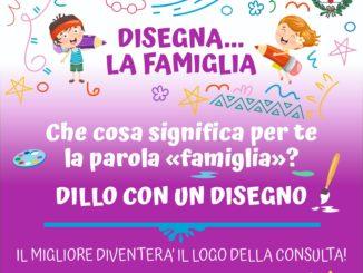 Concorso: disegna… la famiglia! Il logo della Consulta delle famiglie del Comune di Alba
