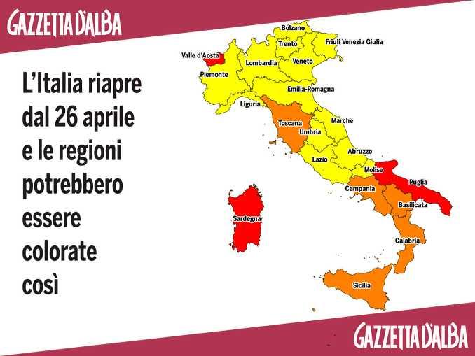 Mappa Covid
